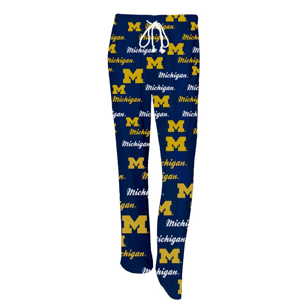University of Michigan Wolverines Ladies' Pajama Pants Sleep Bottoms