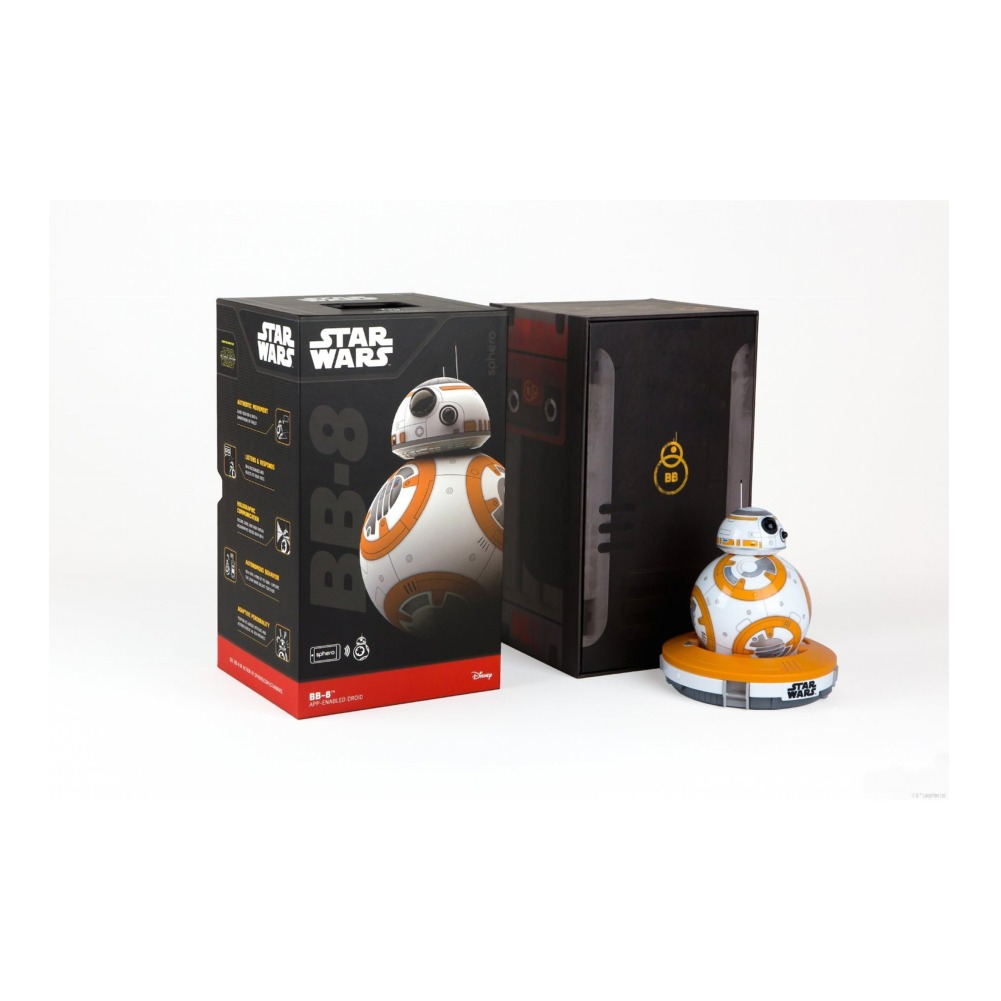 Sphero Bb 8 App Enabled Droid With Star Wars Force Band Bundle Bb8 Special Edition By