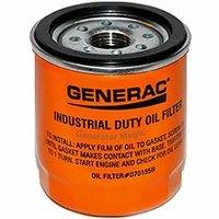 Generac Part #: 070185B - OIL FILTER 75 LONG, Colors Vary (Discontinued by Manufacturer)