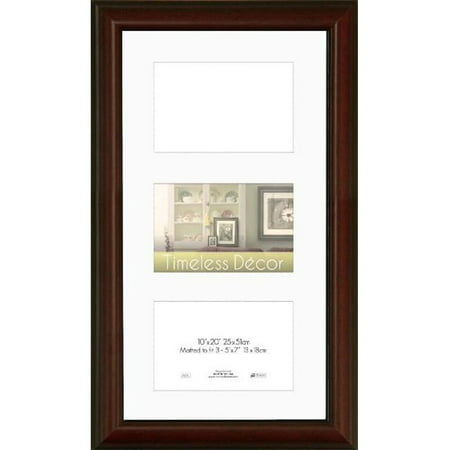 - Timeless Frames 78114 Huntley Cherry Wall Frame, 10 x 20 in.
