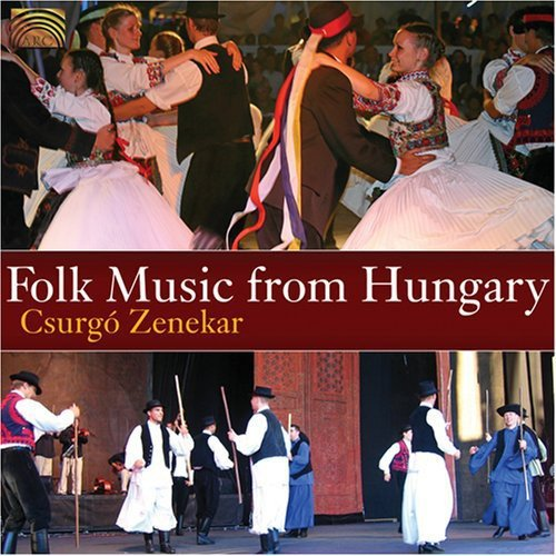 Folk Music From Hungary (W/Book)