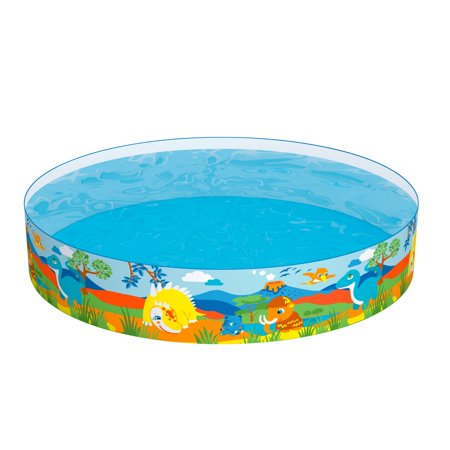 H2OGO! Dinosaur Fill 'N Fun Kiddie Swimming Pool](Plastic Kid Pool)