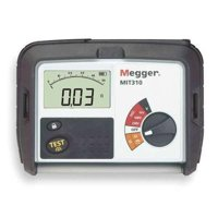 MEGGER MIT310 Battery Operated Megohmmeter,1000VDC