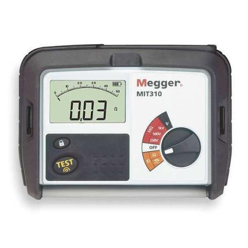 MEGGER MIT310 Battery Operated Megohmmeter, 250/1000VDC