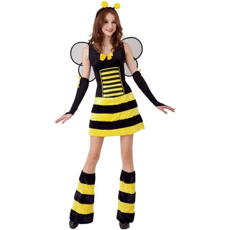 Bumble Bee Fairy Adult Halloween Costume (Glitter Bumble Bee Toddler Halloween Costume)