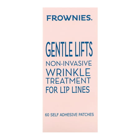 Frownies  Gentle Lifts  Wrinkle Treatment for Lip Lines  60 Self Adhesive Patches