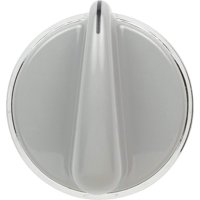 WE01X20380 Control Knob for General Electric Dryer (Light Grey)