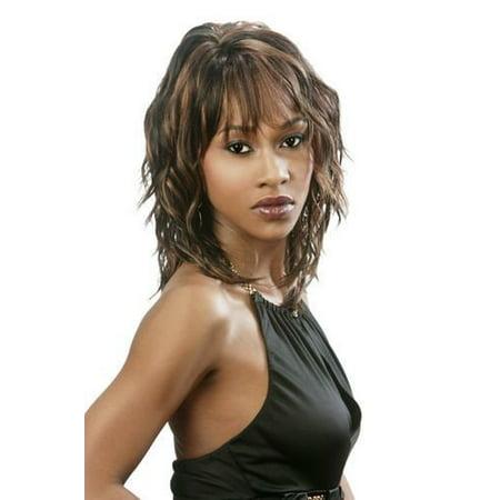 FLIRT (Motown Tress) - Synthetic Full Wig in JET BLACK - image 1 of 1