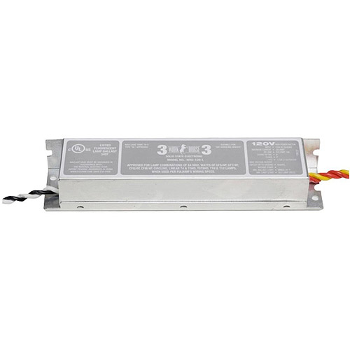 Fulham WH3-120-L Fluorescent Electronic Ballast 64W, 120V