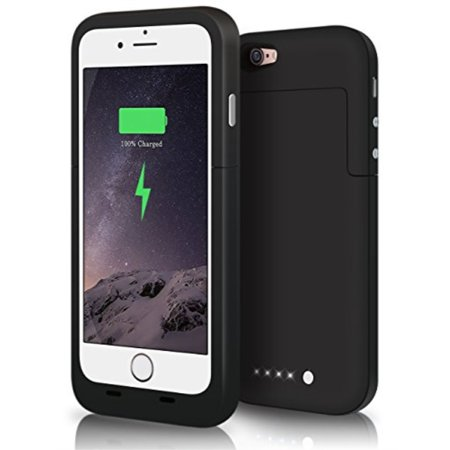 huge selection of d524c 248d5 iPhone 6S Battery Case, iPhone 6 Battery Case, JIUNAI iPhone 6S Portable  Charger Fast Recharge External Power Bank Charging Case 3800 mAh Battery ...