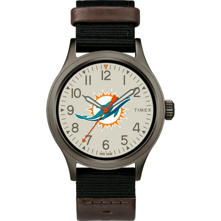 Timex - NFL Tribute Collection Clutch Men's Watch, Miami Dolphins