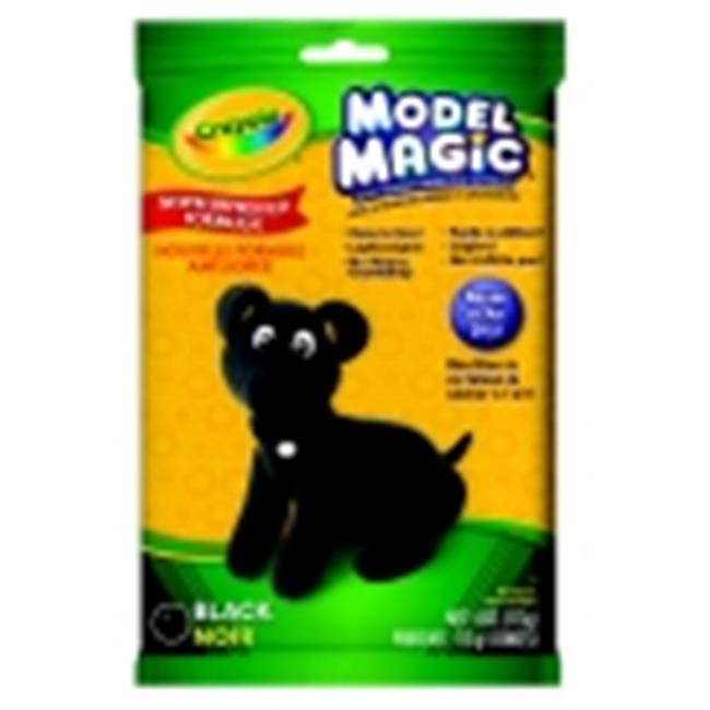 Crayola Non-Toxic Model Magic Mess-Free Modeling Dough - 4 Oz.  - Black