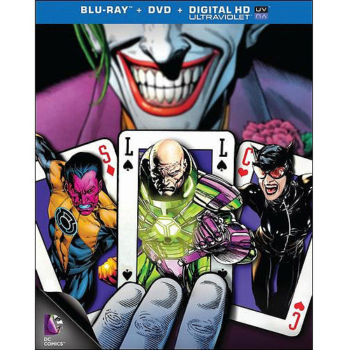 Necessary Evil: Super-Villains Of DC Comics (Blu-ray + DVD + Digital HD) (With Ultraviolet) (Widescreen)
