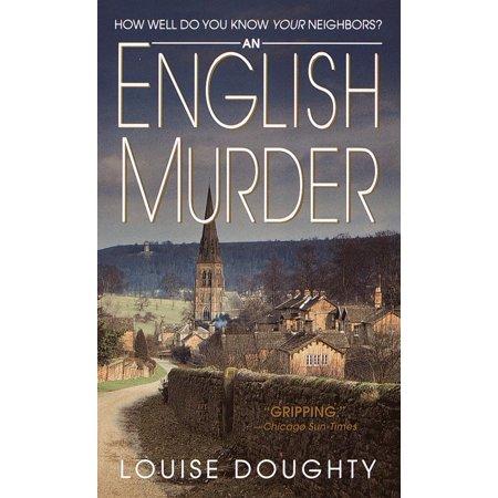 An English Murder : A Novel (Best English Fiction Novels)