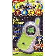 Ja-Ru Sound Tech Play Cell Phone (Pack of 6)