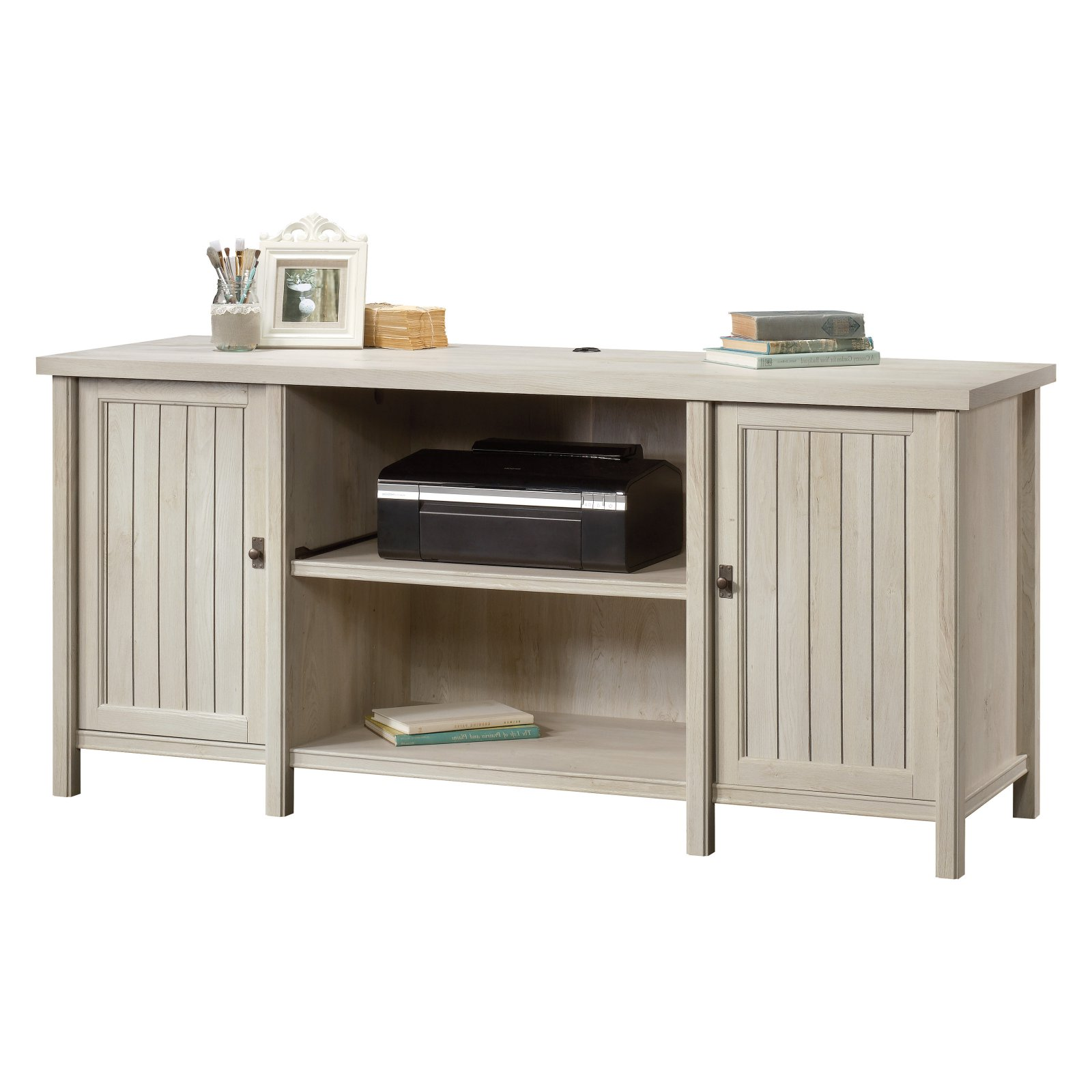 Costa Credenza with Optional Hutch by Sauder