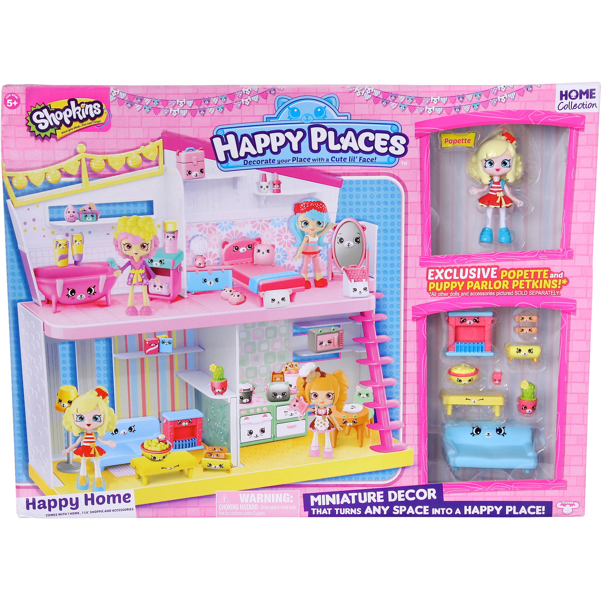 Shopkins Happy Places Happy House Walmart Com