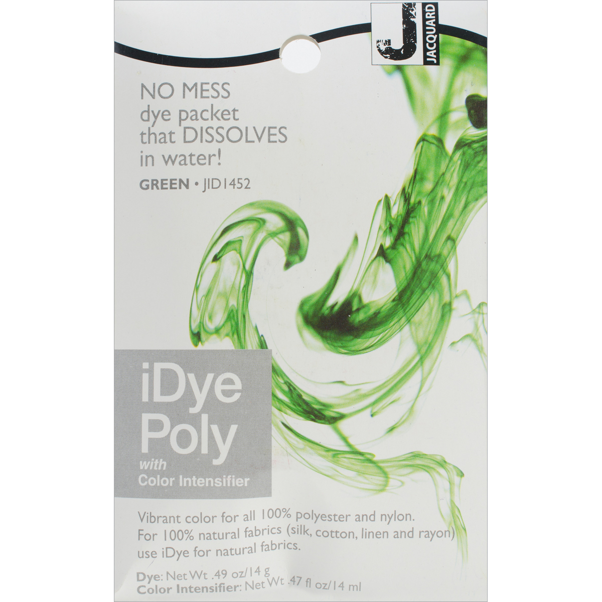 Jacquard iPoly Fabric Dye 14g-Green