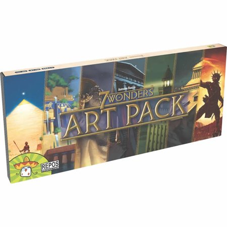 7 wonders art pack board game accessory asmodee walmart com