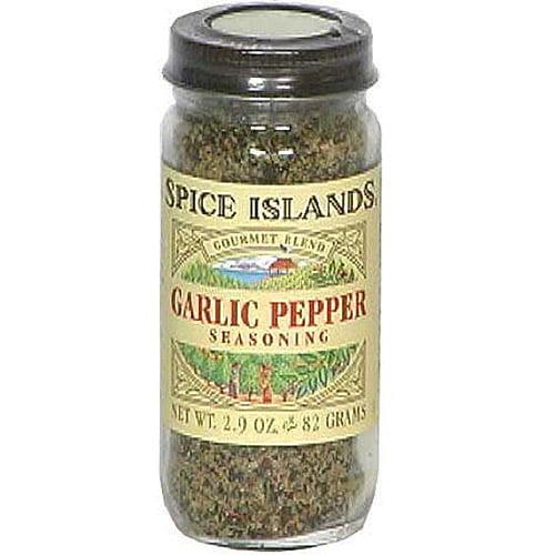 Spice Islands Garlic Pepper, 2.7 oz (Pack of 3)