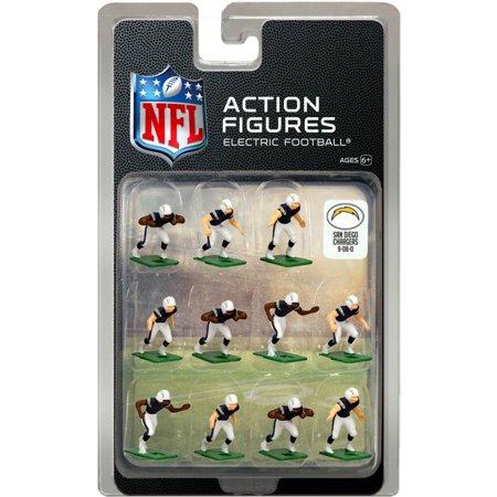 Los Angeles Chargers Home Uniform NFL Action Figure Set