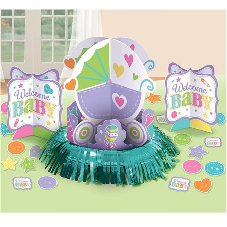 welcome baby table decorating kit each baby shower party supplies