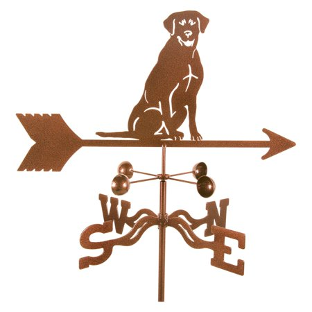 EZ Vane Sitting Lab Dog Weathervane