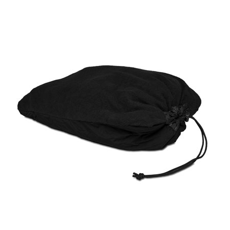 ENO - PakPillow Hammock Pillow, Black, IDEAL FOR HOT OR COLD WEATHER: The PakPillow's fleece and microfiber construction make it ideal for hot or cold conditions..., By Eagles Nest