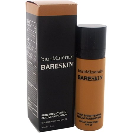 - Bareminerals BareSkin Pure Brightening Serum Foundation SPF 20, Bare Honey, 1 Oz