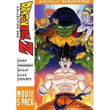 DRAGON BALL Z-MOVIE PACK #1-MOVIES 1-5 (DVD/5 DISC)