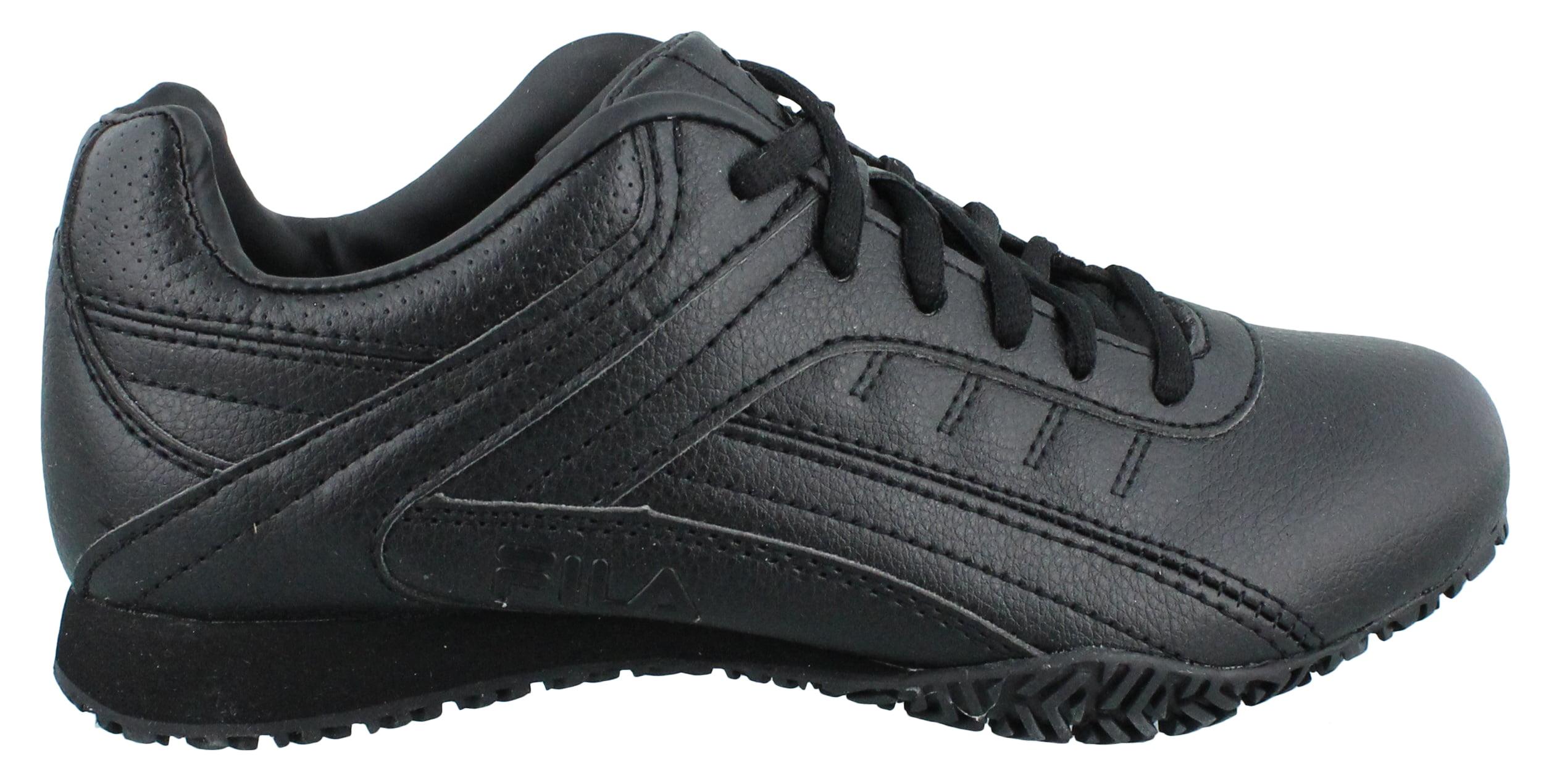 Women's Fila, Memory Elleray 5 Slip Resistant Work Sneaker by Fila