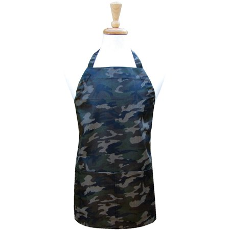 Two Lumps Of Sugar Adult Utility Apron-Camo - image 1 of 1