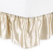 Harmony Lane Satin Ruffled Bed Skirt