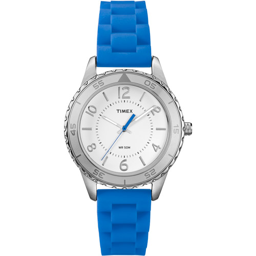 Timex Women's Ameritus Sport Watch, Brilliant Blue Strap
