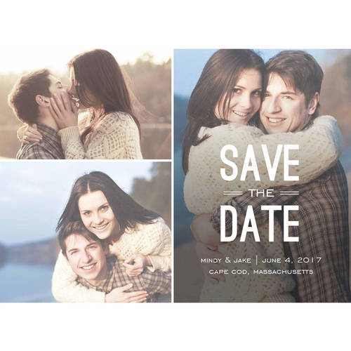 Modish Standard Save the Date