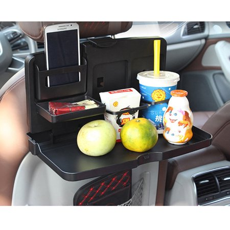 Jeobest 1pc Car Back Seat Organizer With Foldable Table Tray Practical Supplies Multi