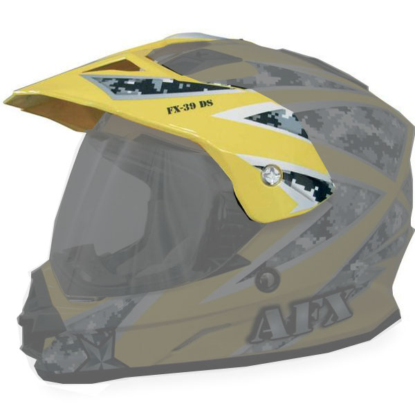 AFX FX-39DS Dual Sport Urban Replacement Peak Urban Yellow