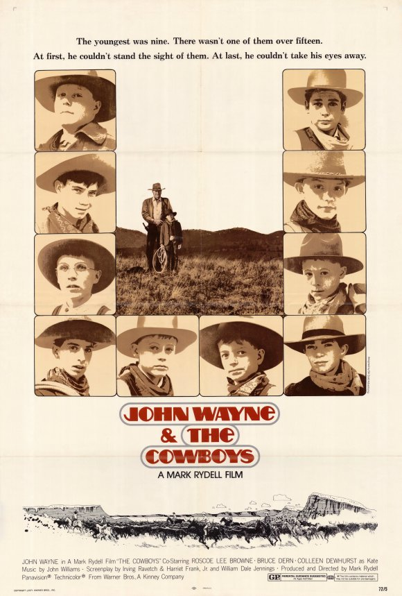 Cowboys (1972) 11x17 Movie Poster by Pop Culture Graphics