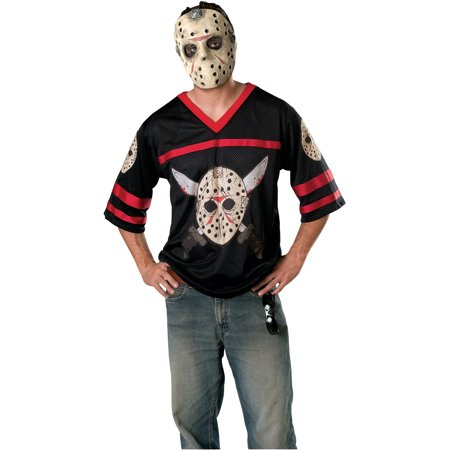 Friday the 13th Jason Hockey Jersey and EVA Mask Adult - Jason Voorhees Part 7 Costume