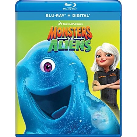 Monsters vs. Aliens (Blu-ray + Digital Copy) (Monsters Vs Aliens Night Of The Living Dog)