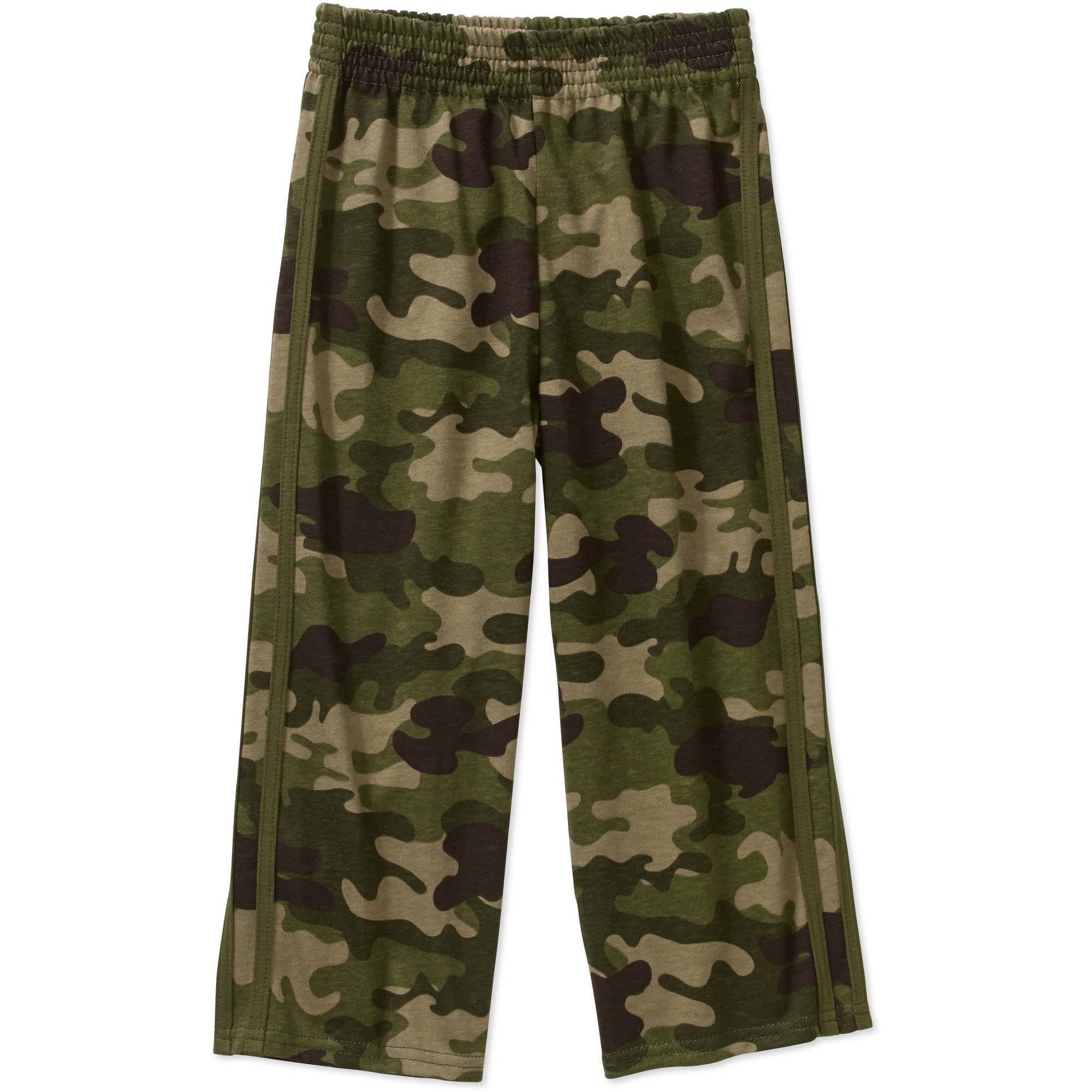 Garanimals Baby Toddler Boy Green Camo Jersey Pants Sweatpants