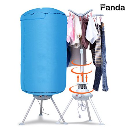 Panda Portable Ventless Cloths Dryer Folding Drying Machine with Heater (Portable Dryer Ventless)