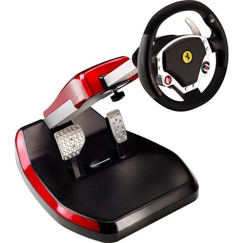 THRUSTMASTER 4160545 PlayStation(R)3/PC Ferrari(R) Wireless GT F430 Scuderia Edition Cockpit