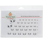 Peachy Keen Stamps Clear Face Assortment 32/pkg-erkle & Merkle