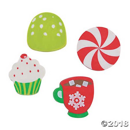 Holiday Sweet Treats Scented Erasers - Scented Erasers