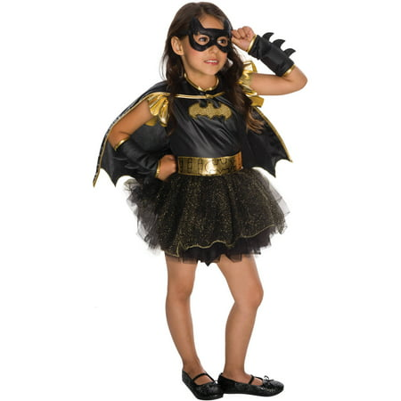 Batgirl Child Deluxe Tutu Dress Halloween - Batgirl Kids Costume