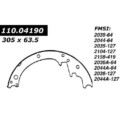 OE Replacement for 1967-1970 GMC K25/K2500 Pickup Rear