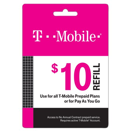 T-Mobile $10 Prepaid Mobile Internet On-Demand Pass (Email