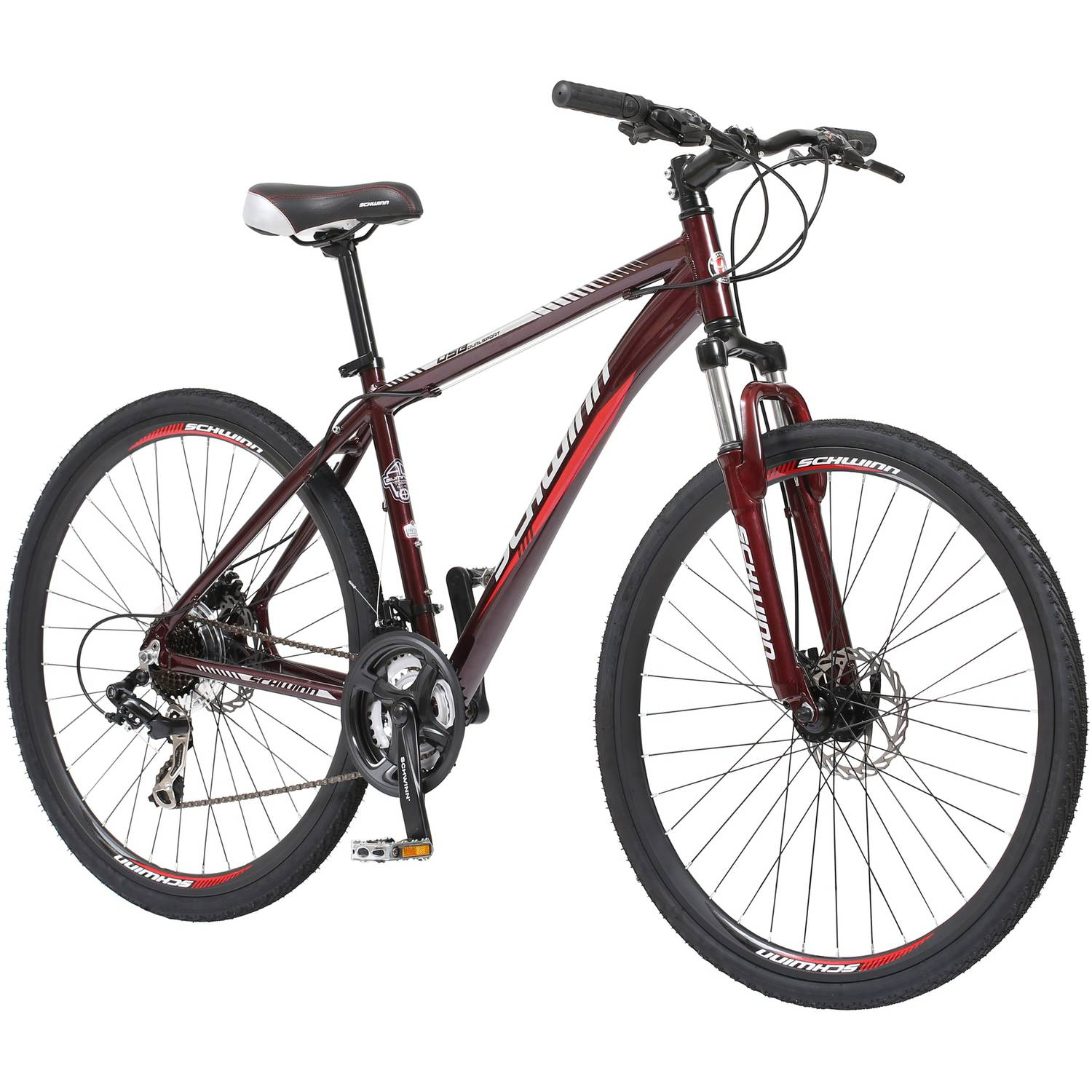 700c Schwinn DSB Men's Bike, Oxblood