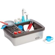 Little Tikes First Sink & Stove Realistic Pretend Play Appliance for Kids,Multicolor